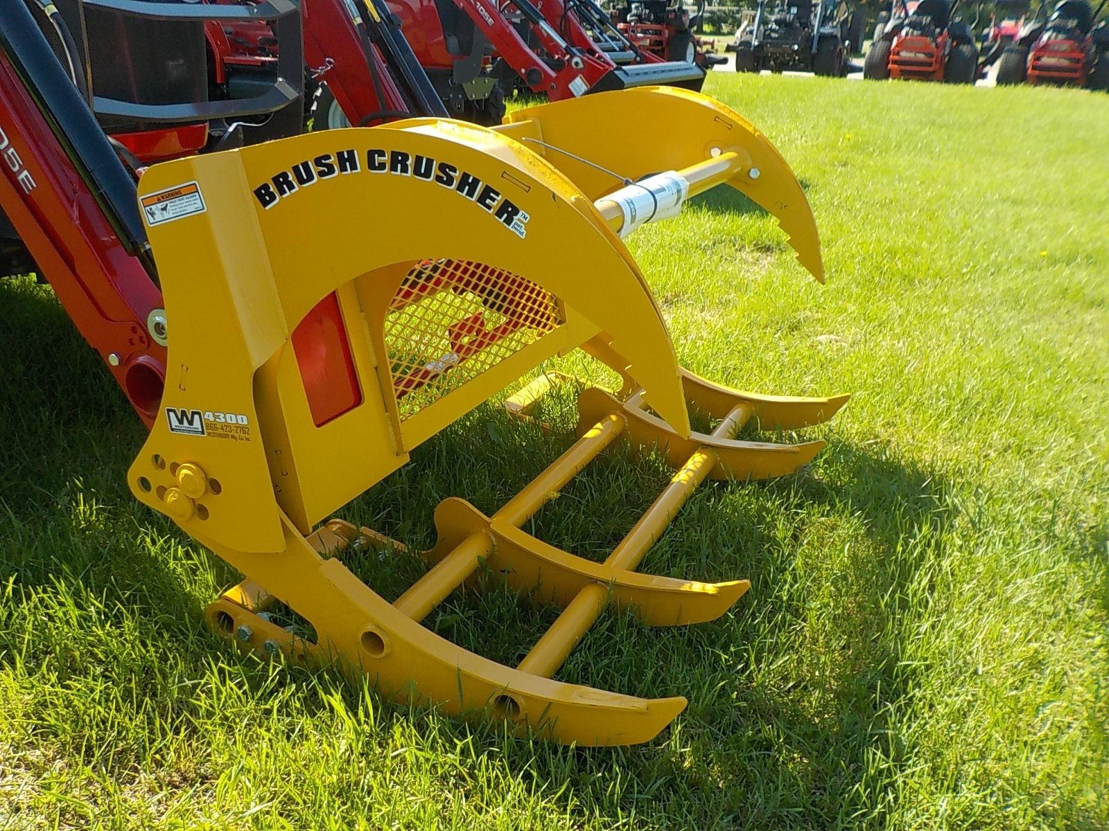 2018 Westendorf BC4300 Loader and Skid Steer Attachment