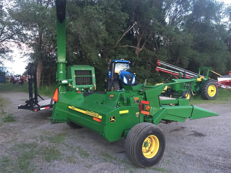 2012 John Deere 3955 Pull-Type Forage Harvester