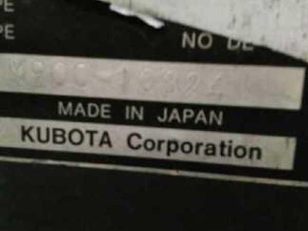 2001 Kubota M9000 Tractor