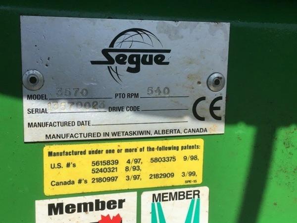 2014 Sabre SEGUE 3570 Bale Processor
