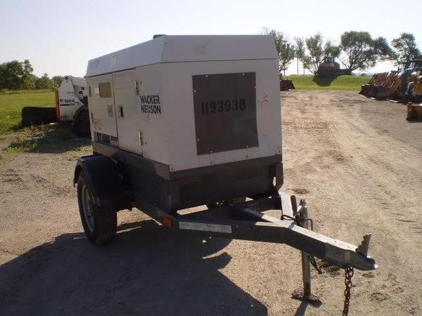 2011 Wacker Neuson G25 Generator