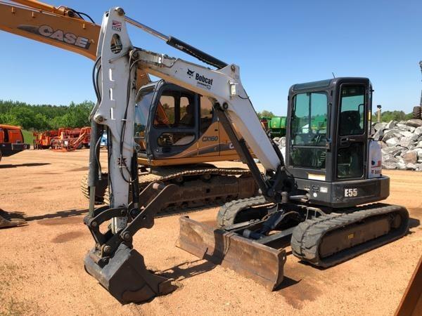 2012 Bobcat E55 Excavators and Mini Excavator