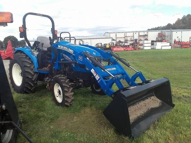 Used New Holland Boomer 54D Tractors for Sale | Machinery Pete