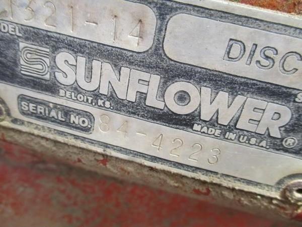 Sunflower 1321-14 Disk