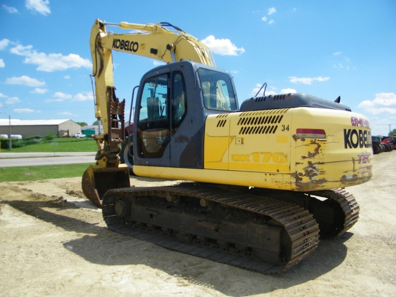 Used Kobelco Excavators and Mini Excavators for Sale | Machinery Pete