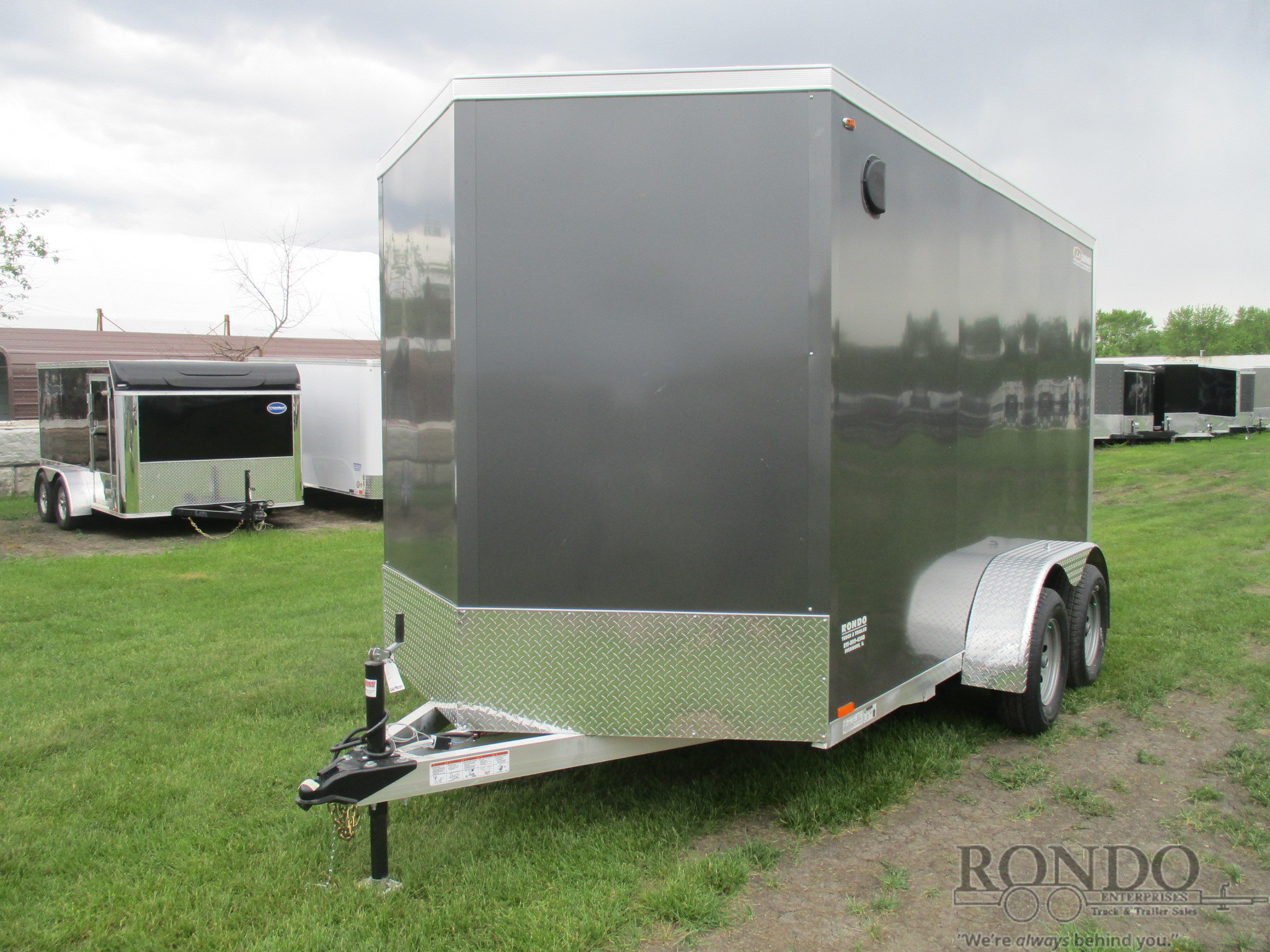 2019 Legend 7X14TVTA35 Box Trailer