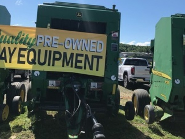 John Deere 458 Silage Special Round Balers for Sale
