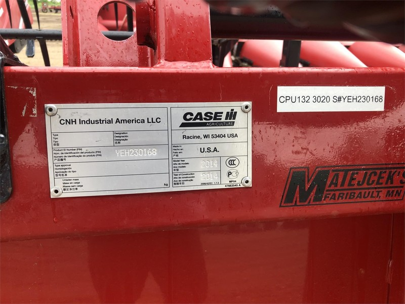 2014 Case IH 3020 Platform