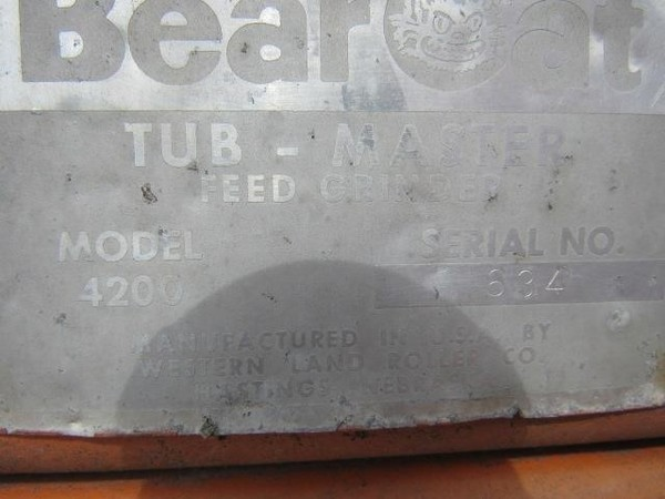 Bear Cat 4200 Grinders and Mixer