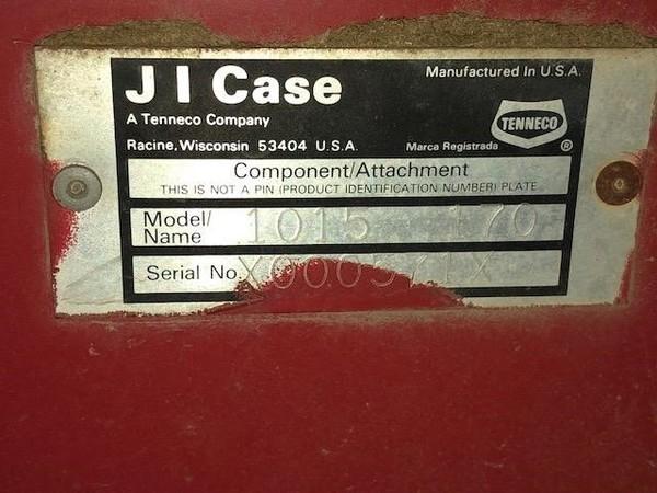 1986 Case IH 1015 Platform