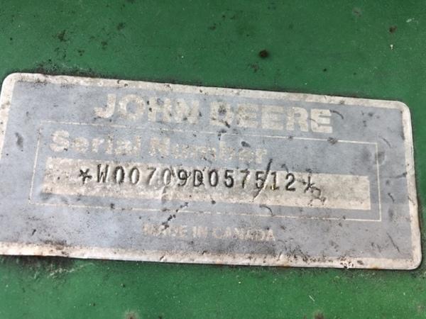 1991 John Deere 709 Rotary Cutter