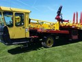 2007 New Holland H9870 Bale Wagons and Trailer