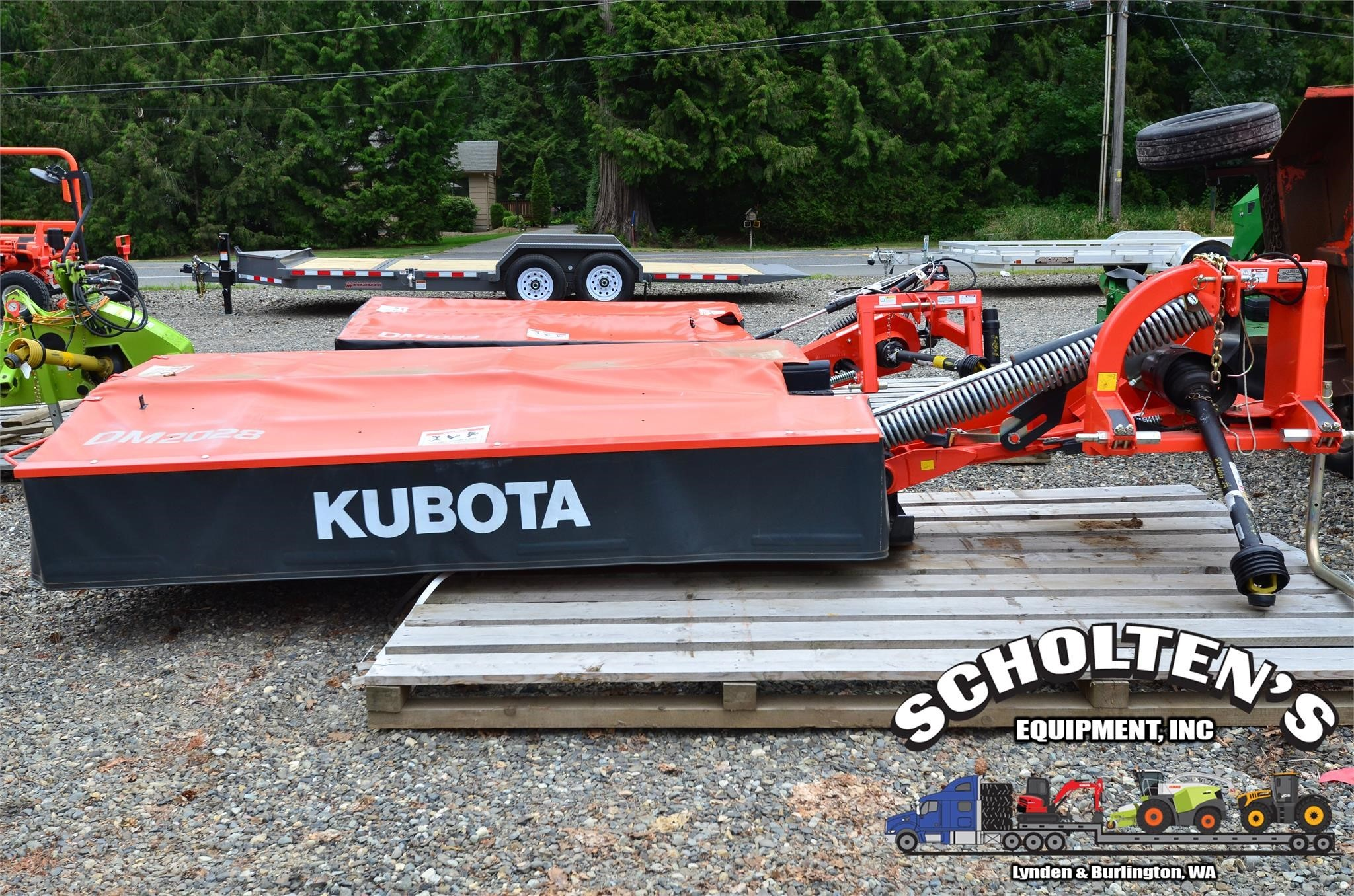 2017 Kubota DM2028 Disk Mower