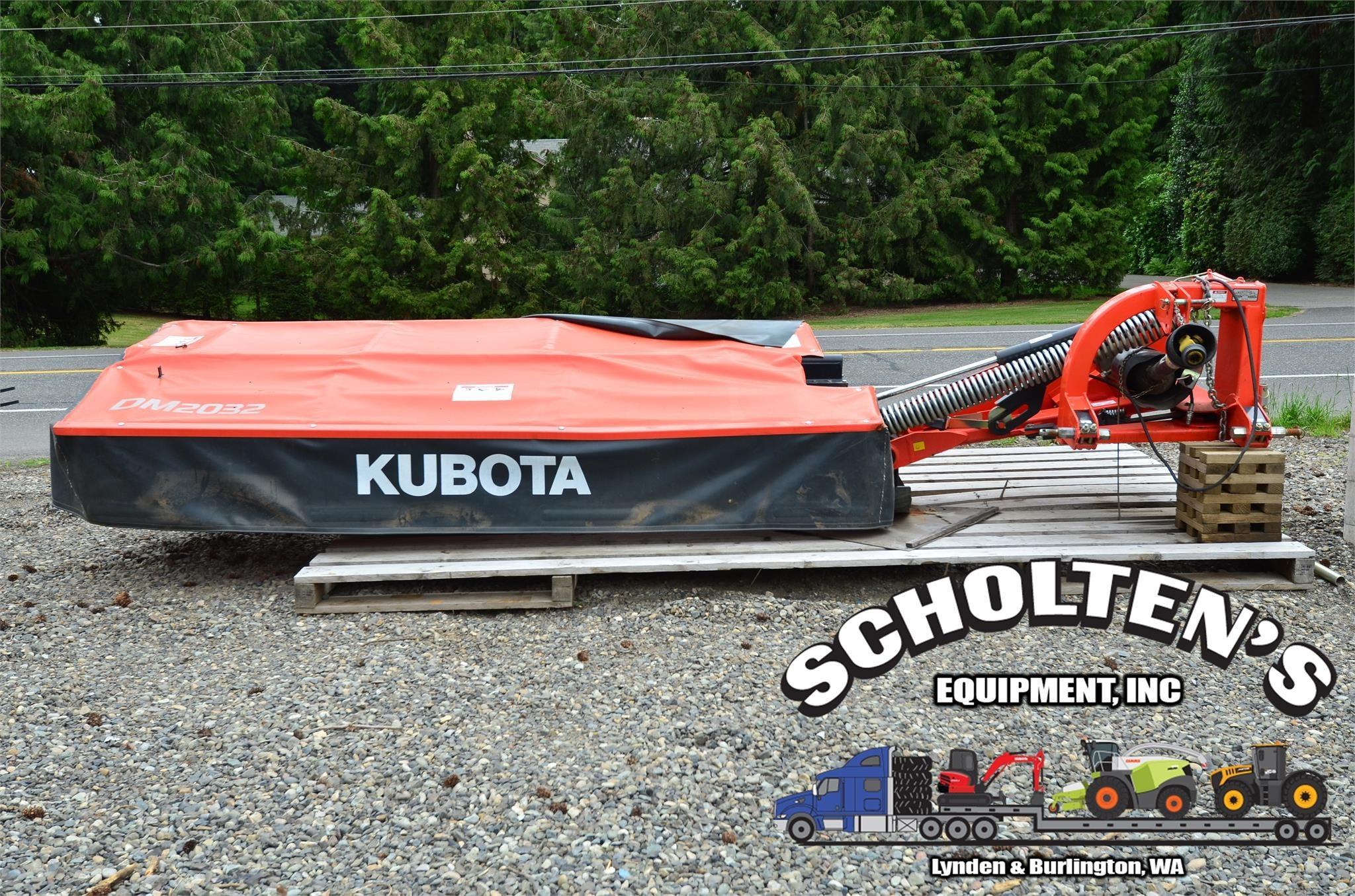 2017 Kubota DM2032 Disk Mower
