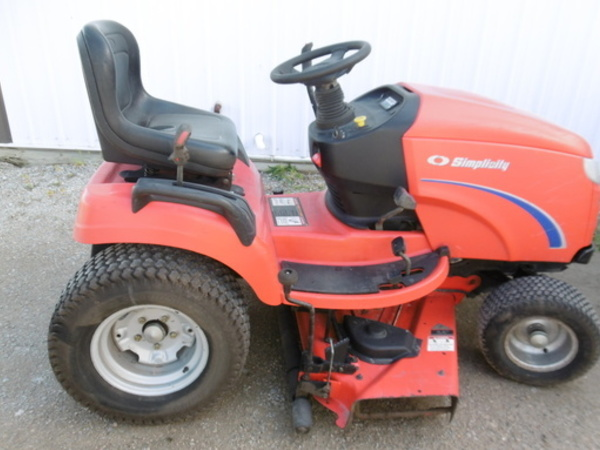 Used Simplicity Conquest Lawn and Garden for Sale | Machinery Pete