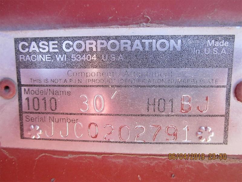 1996 Case IH 1010 Platform