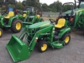 2019 John Deere 1023E W/ BELLY MOWER Under 40 HP