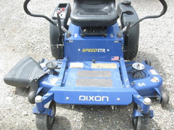 2010 dixon speedztr 54 lawn and garden