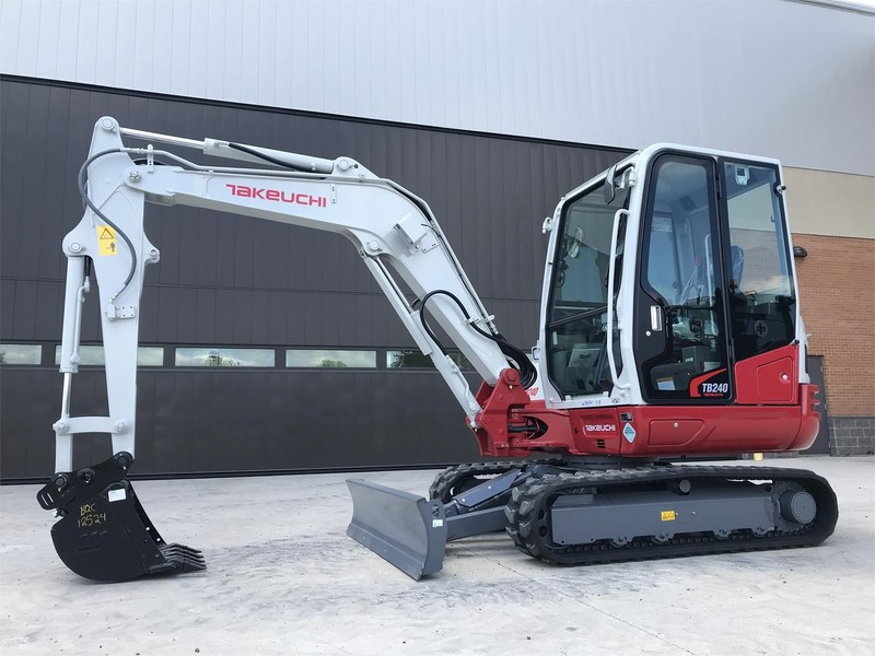 Used Takeuchi TB240 Excavators and Mini Excavators for Sale
