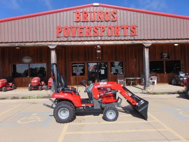2021 Massey Ferguson GC1723E Tractor