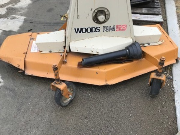 Used Woods RM59 Rotary Cutters for Sale | Machinery Pete