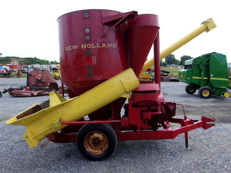 New Holland 350 Grinders and Mixer