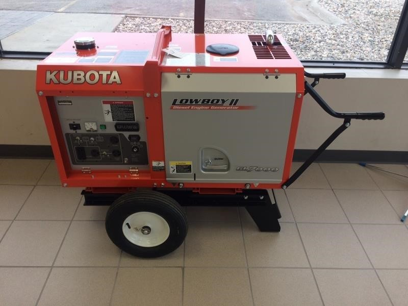2018 Kubota GL7000 Generator