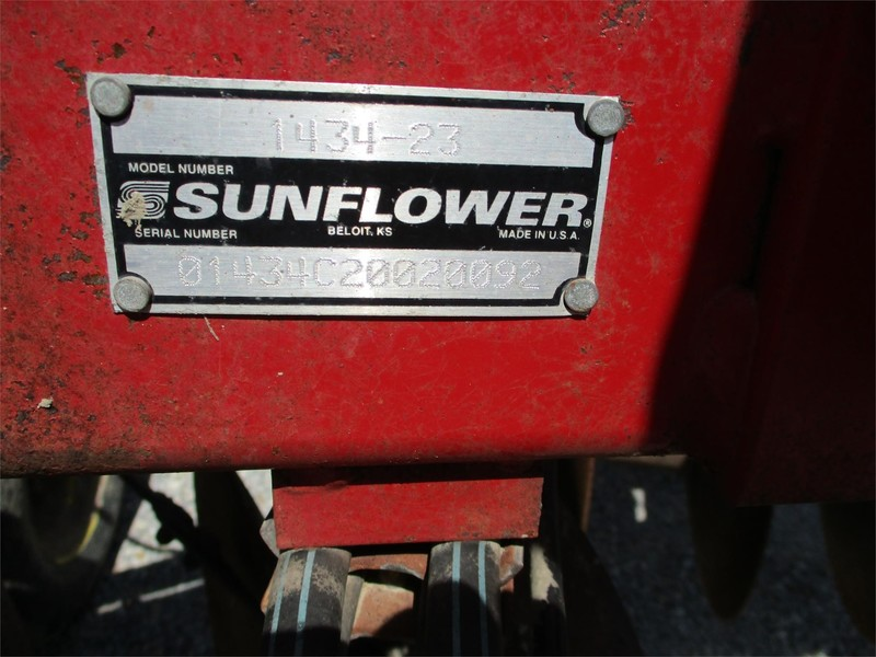 2002 Sunflower 1434-23 Disk