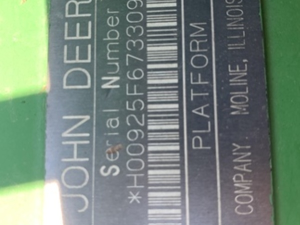 1997 John Deere 925 Platform