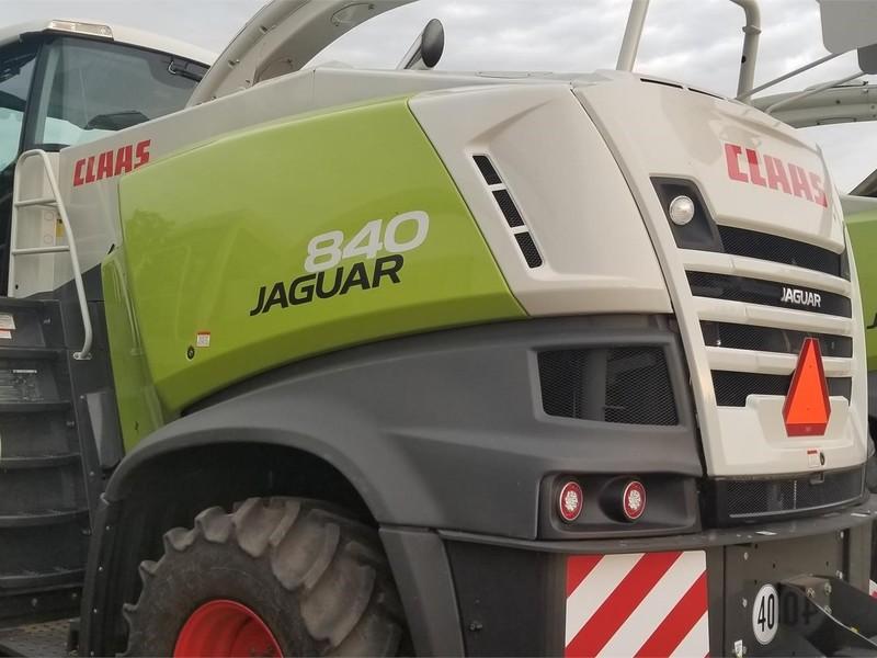 2014 Claas Jaguar 840 Self-Propelled Forage Harvester
