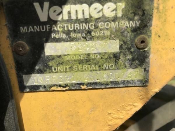 1998 Vermeer R24A Rake
