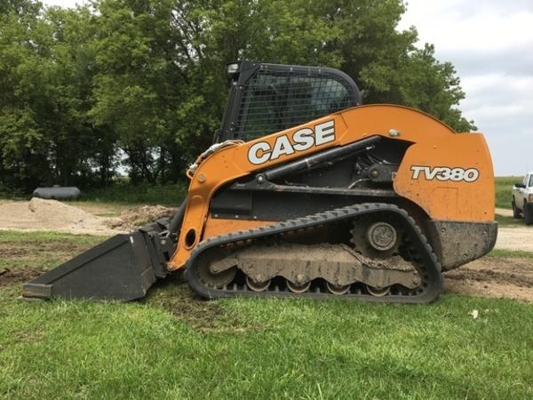 2017 Case TV380-T4F Skid Steer