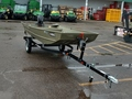 2017 6110 C1448 14' Basic Jon Boat w/ Trailer and 6 hp Merc Miscellaneous