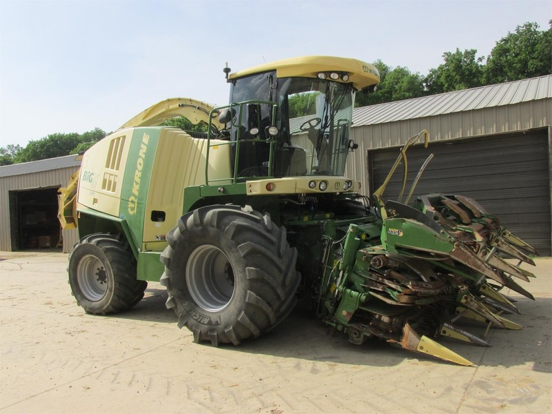 2011 Krone BIG X 850 Self-Propelled Forage Harvester