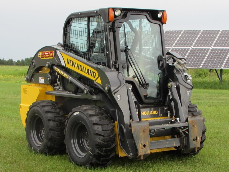 Used New Holland L220 Skid Steers for Sale | Machinery Pete