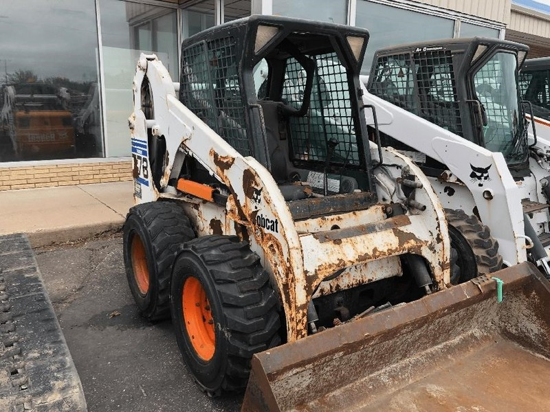 Used Bobcat 773G Skid Steers for Sale   Machinery Pete