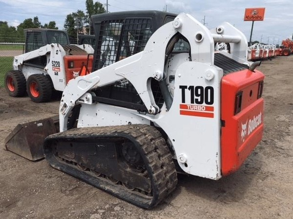 Used Bobcat T190 Skid Steers for Sale | Machinery Pete