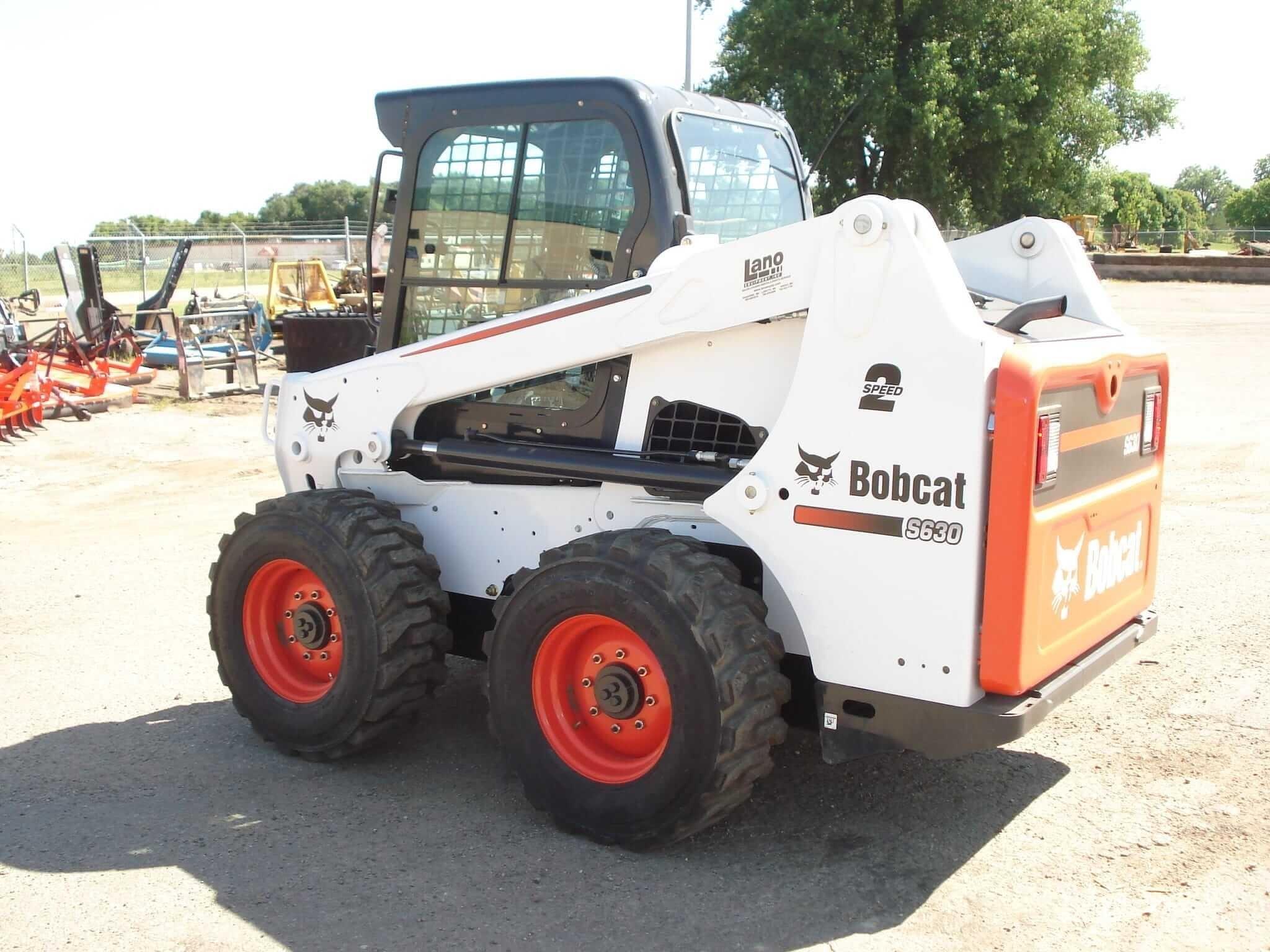 2019 Bobcat S630 Skid Steer