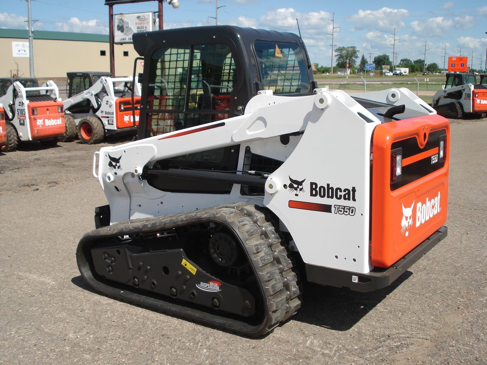 2019 Bobcat T550 Skid Steer