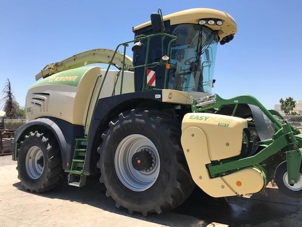 2016 Krone BIG X 630 Self-Propelled Forage Harvester