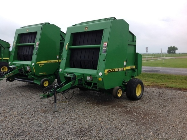 John Deere 566 Round Balers for Sale   Machinery Pete