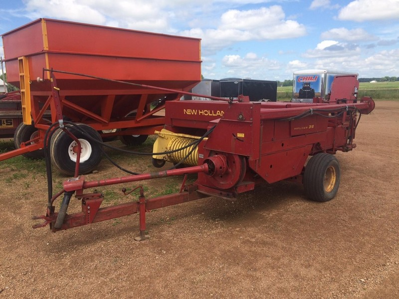 Used New Holland 315 Small Square Balers for Sale