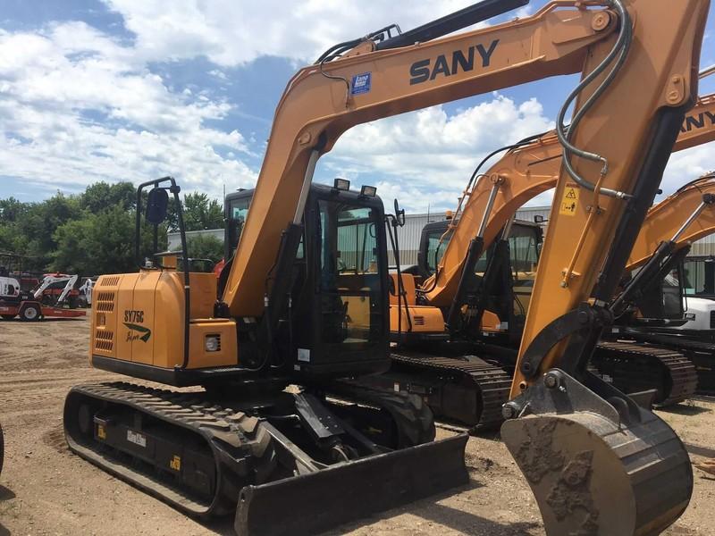 2019 Sany SY35U Excavators and Mini Excavator - Anoka, Minnesota