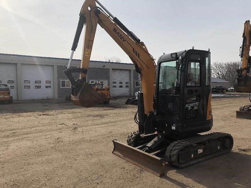 2016 Sany SY35U Excavators and Mini Excavator