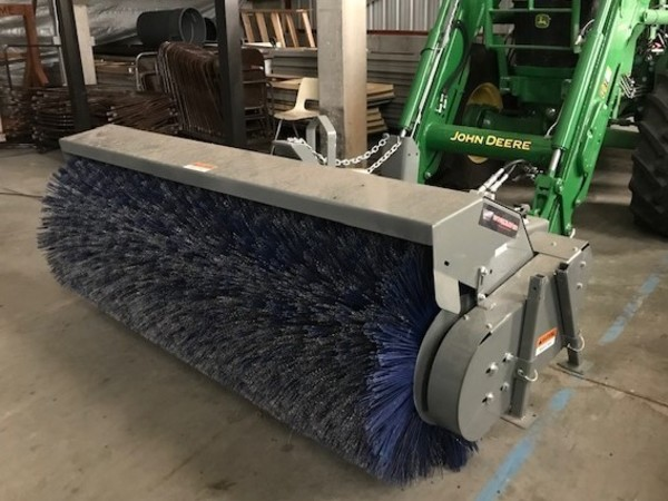 2018 Worksaver 7' SS ROTARY BROOM Loader and Skid Steer Attachment
