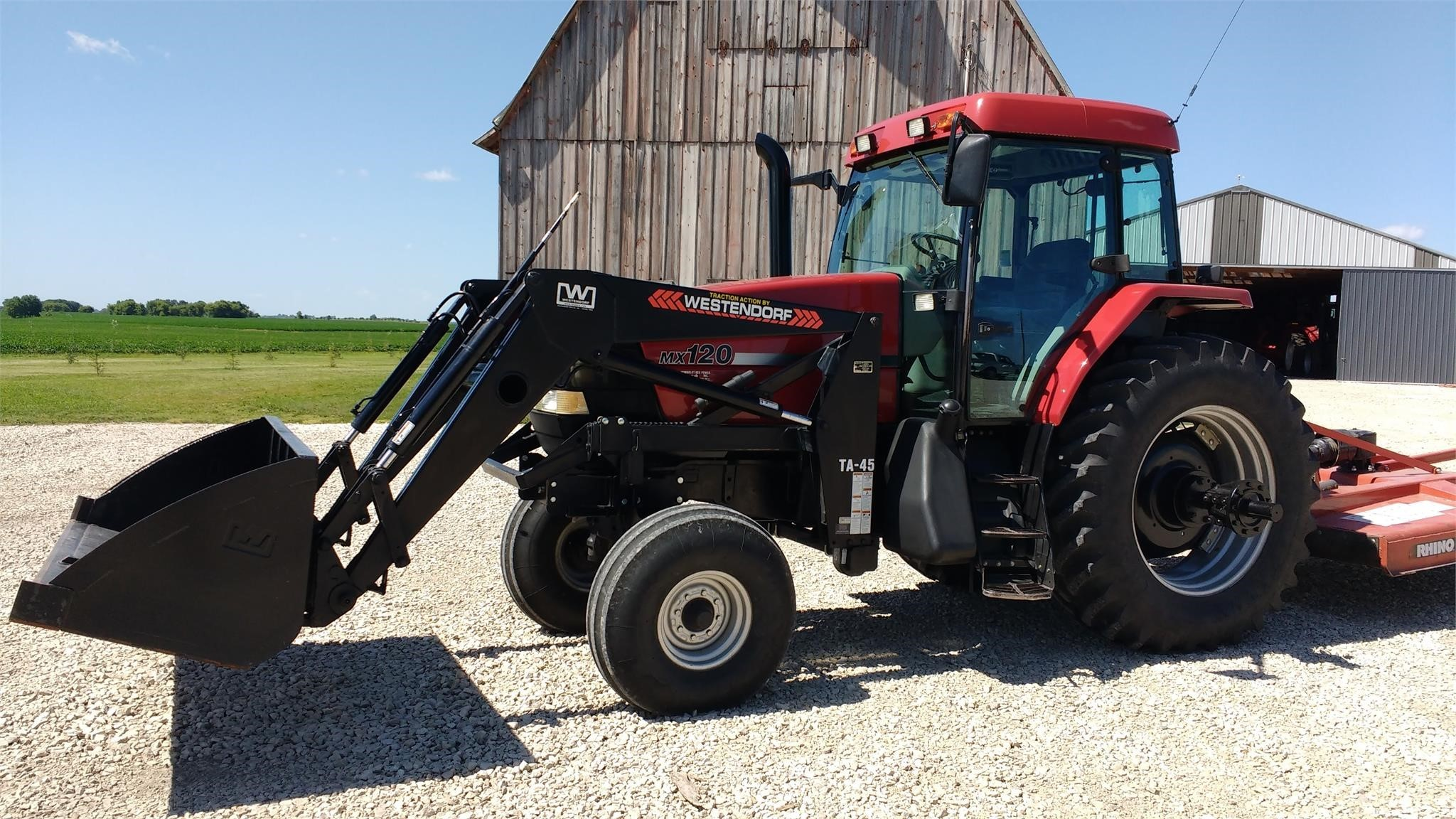 2019 Westendorf TA45 Front End Loader