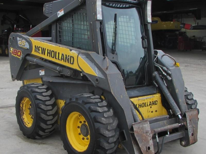 2007 New Holland L180 Skid Steer