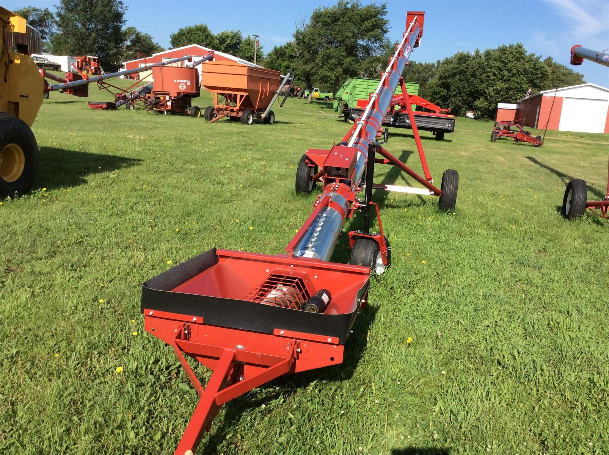 2019 Peck TA10x36 Augers and Conveyor