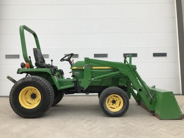 John Deere 855 Tractors for Sale | Machinery Pete
