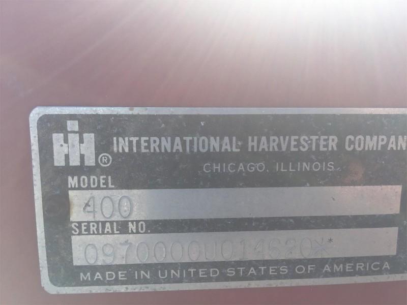 International 400 Cyclo Air Planter